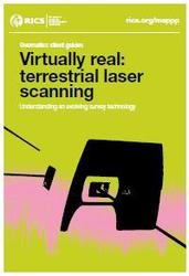 virtually real terrestrial laser scanning